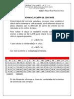OBTENCIÓN DEL CENTRO DE CORTANTE