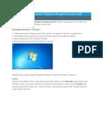 Cara Merubah Windows 7 Bajakan Menjadi Genuine Asli