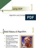 02 - Algorithm Using OOP