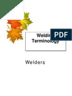 Welders Terminology