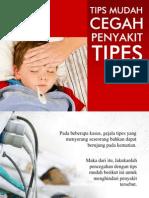 Tips Mudah Cegah Penyakit Tipes