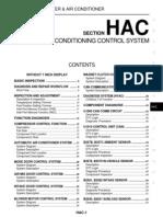 2008 Nissan Teana J32 Service Manual-Hac