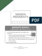 LDS Mission President's Handbook