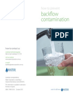 Backflow Prevention Brochure