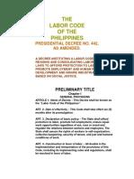 labor  codal - book one