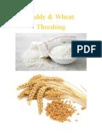 Paddy,Wheat Thresher