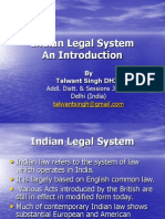 An introduction- Indian Legal System