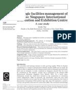 Strategic facilities management of Suntec Singapore International Convention and Exhibition Centre
