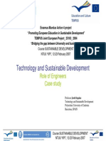 Segalas_ Lecture on Technology and Sustainable Development