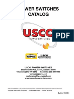 USCO Catalog Disconnector