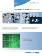 Resistor Capacitor Chip Network