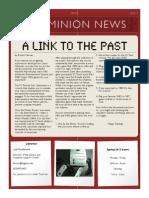 minion news spring 2013