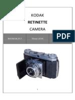 Kodak Retinette 017 Manual
