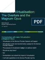 Cisco NW Virtualization