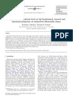 Estudio de Los Niveles de Calcio y pH en Queso Mozzarella
