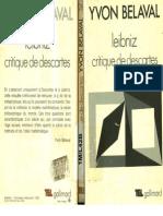 Belaval Yvon, Leibniz Critiqu de Descartes