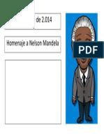 Hoja Para Escribir Frase de Nelson Mandela