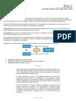 TEMA 1 - Conceptos básicos sobre seguridad y salud