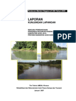 Laporan Kunjungan Lapangan Pengendalian Banjir Krueng Teunom