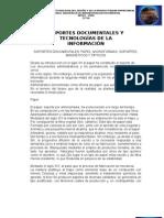 SOPORTES DOCUMENTALES