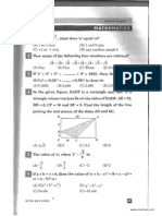 NSTSE Class 8 Solved Paper 2011