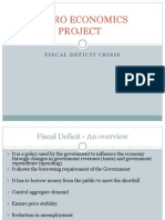 Fiscal Deficit Presentation Group 4