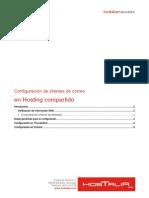 Configuracion Cliente de Correo en Hosting Compartido