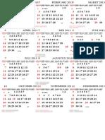 Kalender 2013 Cinta Desain Edit by UndanganX
