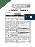 D.S 025-2007-TR Disposiciones Relacionadas Con La Seguridad Social en Salud y Seguro Social de Salud