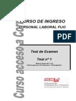 Test 1 de Examen. Repaso Temas 1 Al 8