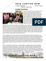 Shale Justice Newsletter Feb-Mar 2014