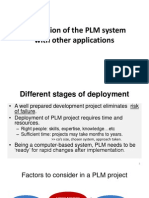 Deployment of the PLM System