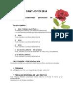 Bases Concurso Literario Sant Jordi 2014 (1)