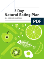 the 28 day natural eating plan