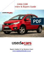 GWM C20R Car Review & Buyers Guide