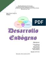 Desarrollo Endogeno (DIVI)