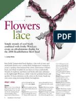 Tubular Ndebele & Stringing - Flowers and Lace