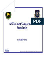 AFCEE Iraq Construction Standards Final-06SEP