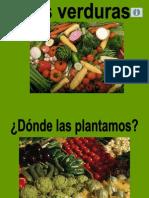 Powerpoint verduras 5 años