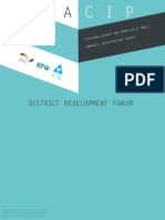 DISTRICT DEVELOPMENT FORUM