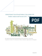 Global Printed Circuit Board Market & Recyclable PCB Market Analysis and Forecast (2011 – 2018)