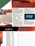 OMEGA Membership Brochure