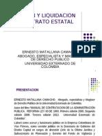 Ejecucion y Liquidacion Contrato Decreto 1510 de 2013 (16082013)