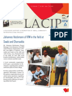 Lacip Update May-Aug 2013