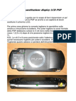 Sostituire LCD PSP