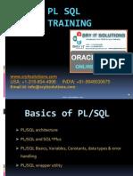 Oracle PL/SQL Training | PL/SQL Online Training | PL SQL Tutorials | SRY IT