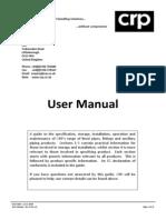 User Manual - Rev 8 Nov 10