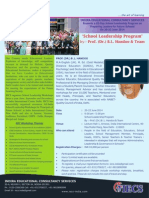 IECS -18'Th School Leadership Program