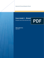 Report - Case Study 3 - Breast Surgery - July 2010 - Hospital Review 2009-10 - APD