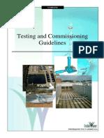 Testing Commissioning